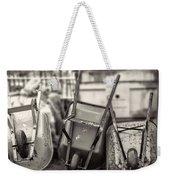 Wheelbarrows  Weekender Tote Bag