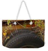 Wheels Of Autumn Weekender Tote Bag