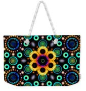 Wheels Of Light Weekender Tote Bag