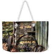 Wheels Of Time Weekender Tote Bag by Benanne Stiens