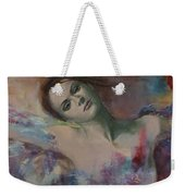 When A Dream Has Colored Wings Weekender Tote Bag by Dorina  Costras