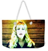 When All The World Seems To Sleep Weekender Tote Bag
