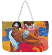 When Are You Getting Married Weekender Tote Bag