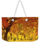 When Autumn Leaves Fall Weekender Tote Bag