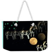 When Cows Jump Over The Moon Weekender Tote Bag