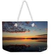 When Heaven Blankets The Earth Weekender Tote Bag by Karen Wiles