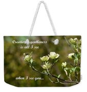 When I See You Weekender Tote Bag