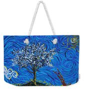 When Squiggles Swim Weekender Tote Bag