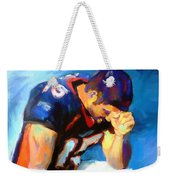 When Tebow Was A Bronco Weekender Tote Bag