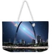 When The Galaxy Came To St. Louis Weekender Tote Bag