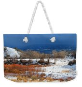 When The Sun Breaks Through The Storm Weekender Tote Bag