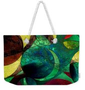 When Worlds Collide Weekender Tote Bag