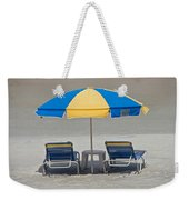 Where Are All The Beach Bums? Weekender Tote Bag