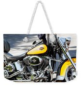 Where Do You Hang A Harley Cap Weekender Tote Bag
