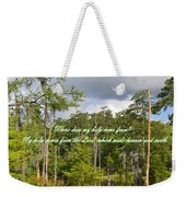 Where Does My Help Come From Weekender Tote Bag