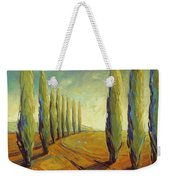 Where Evening Begins 1 Weekender Tote Bag