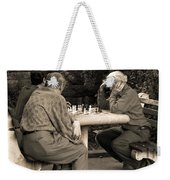 Where Is Bobby Fischer Weekender Tote Bag by Madeline Ellis