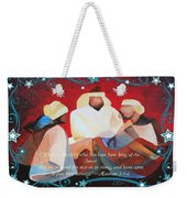 Where Is The Child Who Has Been Born King Of The Jews Weekender Tote Bag