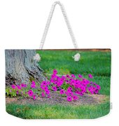 Where Petunia Grows Weekender Tote Bag