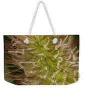 Where Red Meets Fluffy Weekender Tote Bag