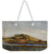 Where The Bay Meets The Hill Weekender Tote Bag
