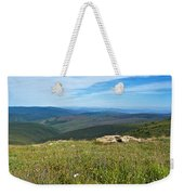 Where The Caribou Roam Near Taylor Highway-ak  Weekender Tote Bag