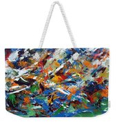 Where The Mountain Meets The Sea Weekender Tote Bag