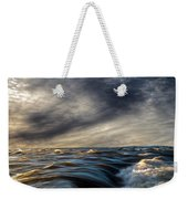 Where The River Kisses The Sea Weekender Tote Bag