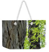 Where The Tree Meets The Stone Weekender Tote Bag