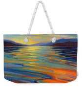 Where The Whales Play 8 Weekender Tote Bag