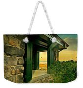 Where The World Turns Weekender Tote Bag
