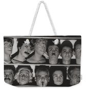 Find The Real Ventriloquist Head Weekender Tote Bag