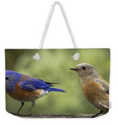 Which One Do You Want Weekender Tote Bag