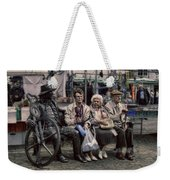 Dead Statue - Who Is Alive Or Dead Weekender Tote Bag