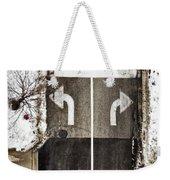 Which Way Weekender Tote Bag by Margie Hurwich