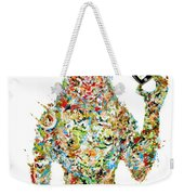 While My Smartphone Gently Weeps Weekender Tote Bag