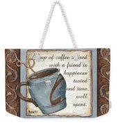 Whimsical Coffee 2 Weekender Tote Bag by Debbie DeWitt