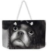 Whimsical Funny French Bulldog Pirate  Weekender Tote Bag