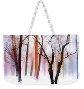 Whimsical Winter Weekender Tote Bag