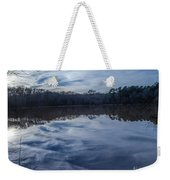Whipped Cream Christmas Reflection Weekender Tote Bag