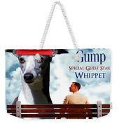 Whippet Art - Forrest Gump Movie Poster Weekender Tote Bag