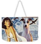 Whippet Art - Suddenly Last Summer Movie Poster Weekender Tote Bag