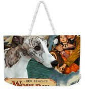 Whippet Art - The World In His Arms Movie Poster Weekender Tote Bag