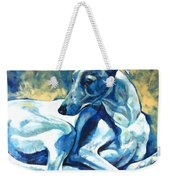 Whippet-effects Of Gravity 5 Weekender Tote Bag