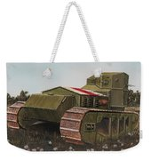 Whippet Aka Tritton Chaser  Weekender Tote Bag
