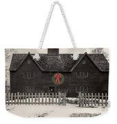 Whipple House Christmas Weekender Tote Bag