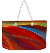 Whirled Colors Weekender Tote Bag