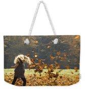 Whirling With Leaves Weekender Tote Bag