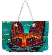 Whiskers Meowing Weekender Tote Bag
