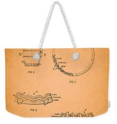 Whiskey Barrel Patent Weekender Tote Bag